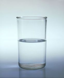 Half Glass With Water (Half Water In Glass)